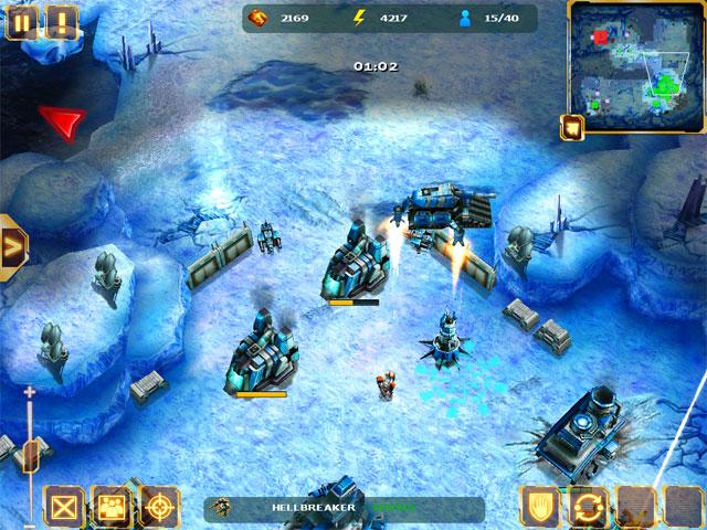 скриншот из игры Starfront: collision HD