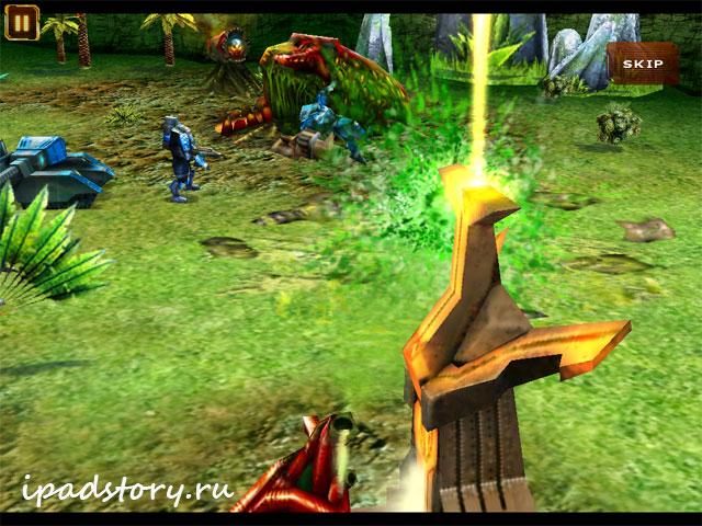 Starfront - скриншоты из игры на iPad