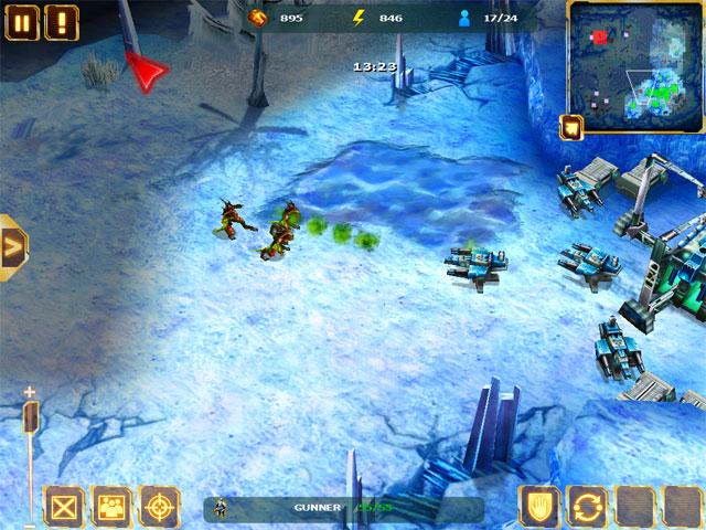 Starfront на iPad, скриншоты из игры