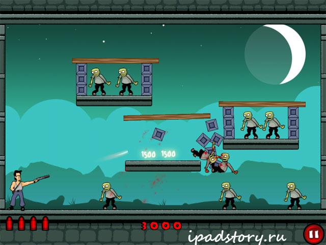 Stupid Zombies - скриншоты из игры для iPad