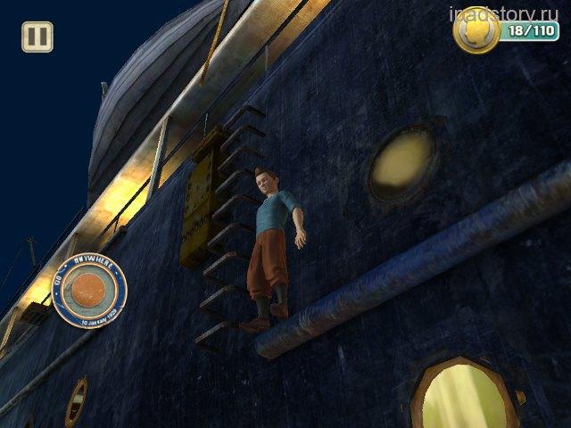 Приключения Тинтина на iPad