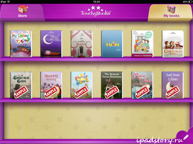 TouchyBooks Interactive Books HD