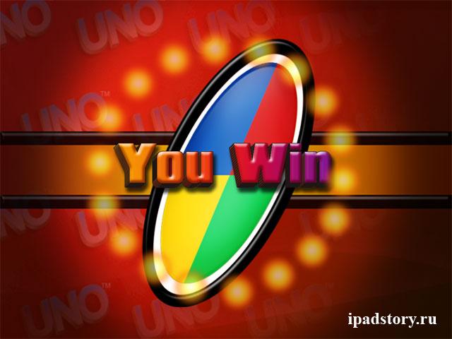 UNO™ HD - игра на iPad