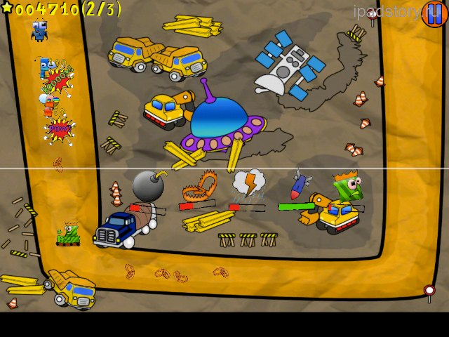 Unstoppable robots ipad