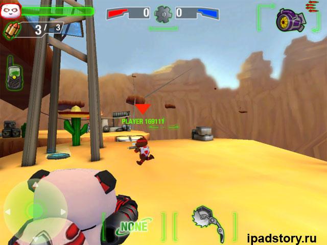Battle Bears Royale - скриншот из игры для iPad