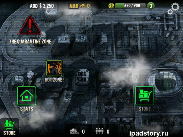 скриншот из игры Contract Killer: Zombies