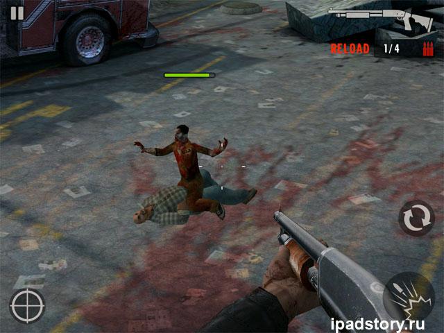 Contract Killer: Zombies - скриншоты из игры для iPad
