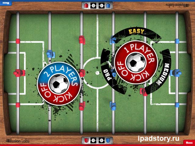 Foosball HD - игра для iPad