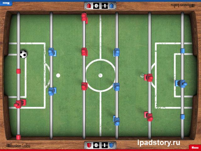 Foosball HD - скриншот из игры для iPad