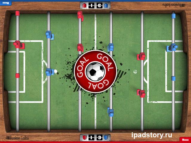 Обзор игры Foosball HD