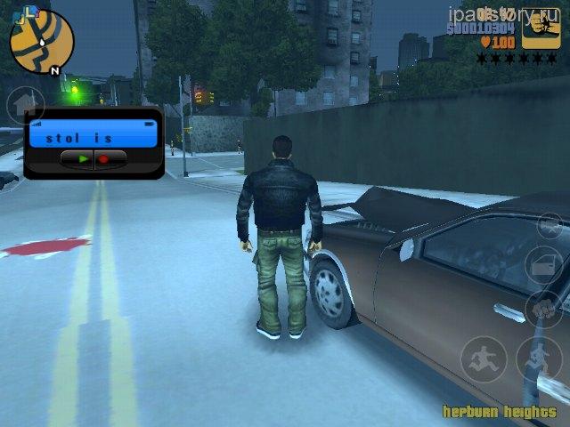 Grand Theft Auto на iPad