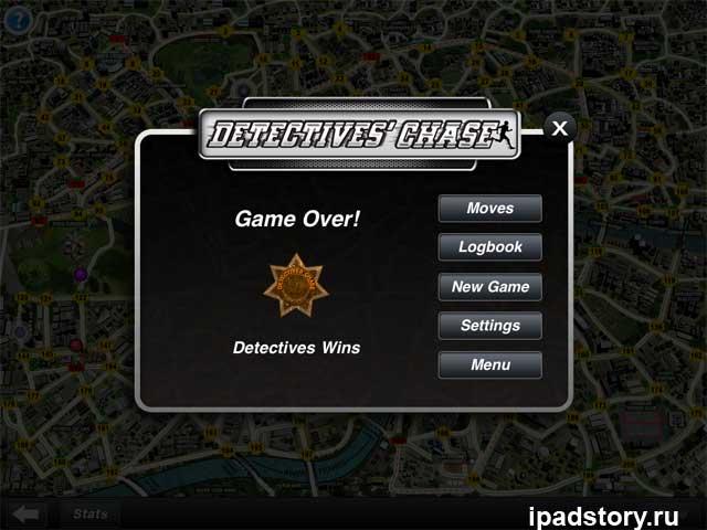 Detectives' Chase - победа