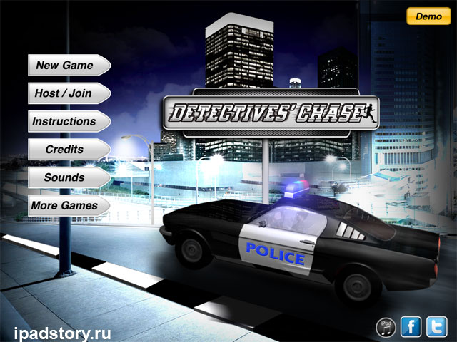 Detectives' Chase - игра на iPad