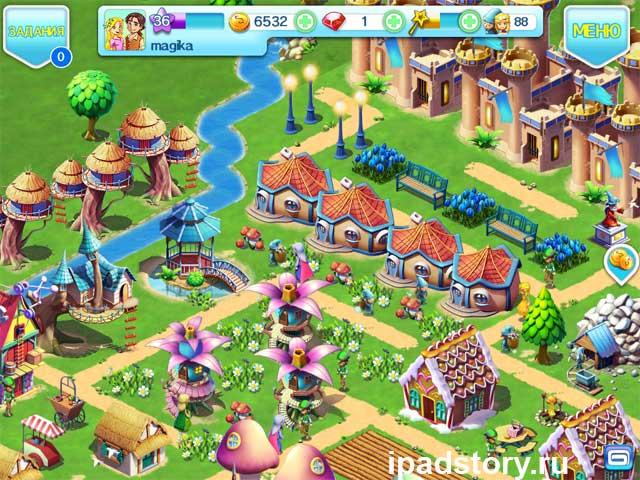 Fantasy Town - игра для iPad, скриншот 36 уровня