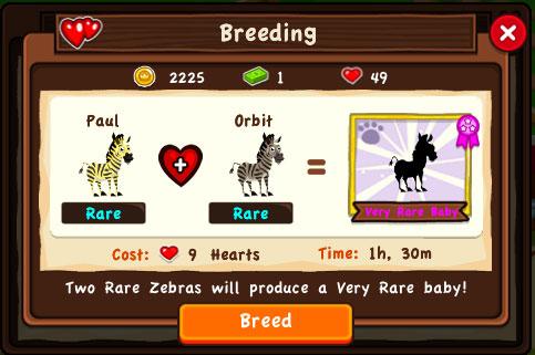 Dream Zoo - скрещивание животных