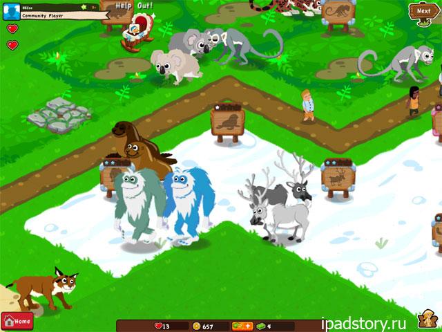 Dream Zoo - скриншот из игры для iPad