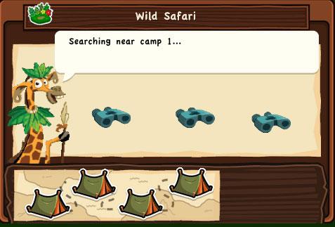 Dream Zoo - скриншот из игры для iPad, сафари