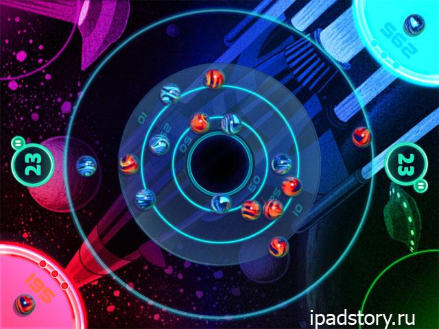 Marble Mixer - режим Space Mania