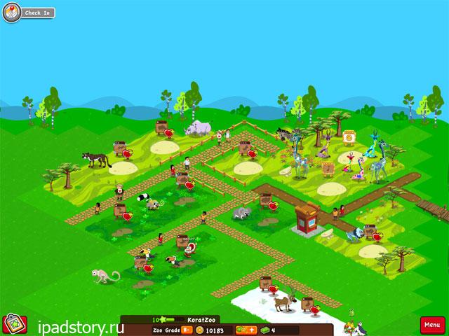 Dream Zoo - мой зоопарк в iPad