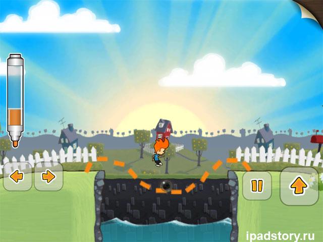 Max and the Magic Marker - скриншот из игры на iPad