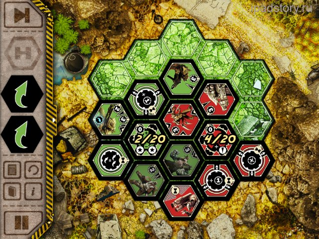 Neuroshima Hex Puzzle