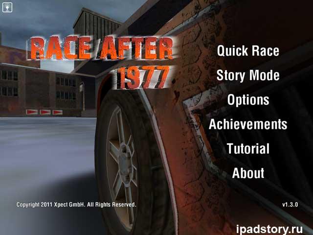 Race After 1977 - игра для iPad