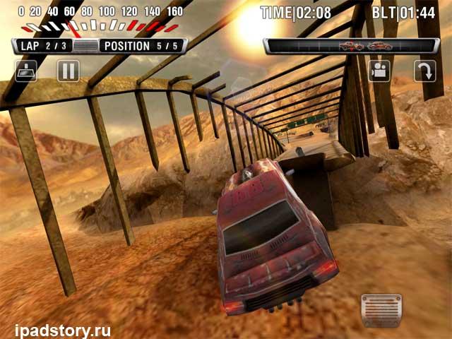 Race After 1977 - скриншоты из игры на iPad