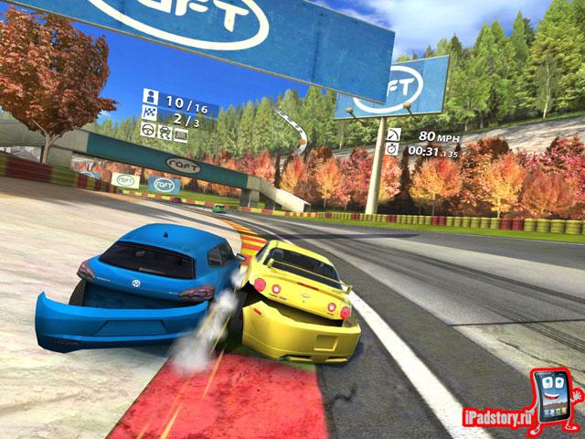 Real Racing 2 HD - скриншот из игры для iPad