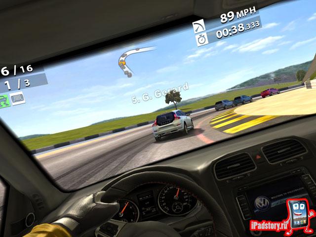 Real Racing 2 HD - скриншот из игры на iPad