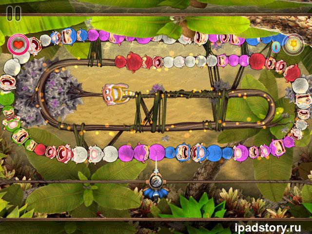 Sparky vs. Glutters - скриншот из игры для iPad
