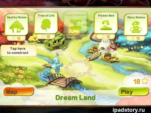 Sparky vs. Glutters - игра на iPad и iPhone