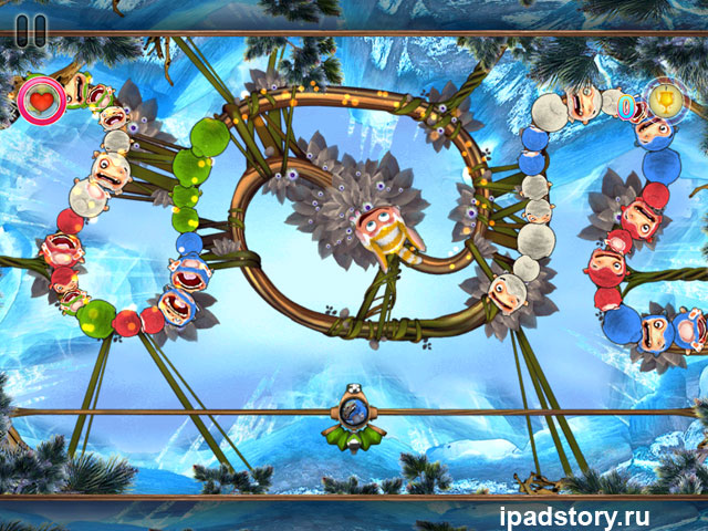 Sparky vs. Glutters - скриншоты из игры