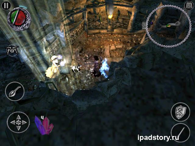 The Bard's Tale - скриншот из игры для iPad