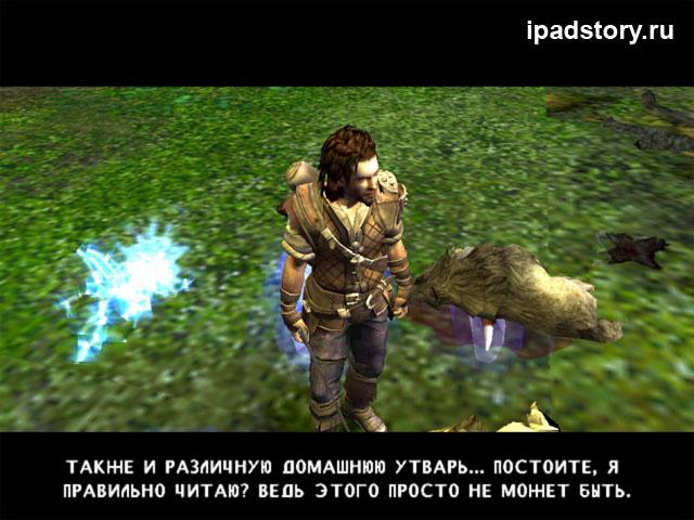 прохождение игры The Bard's Tale на iPad