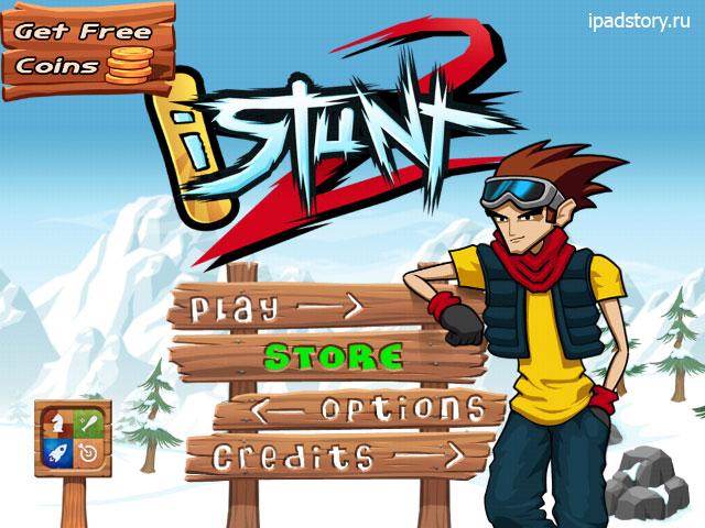 iStunt 2 - Snowboard - обзор игры на iPad