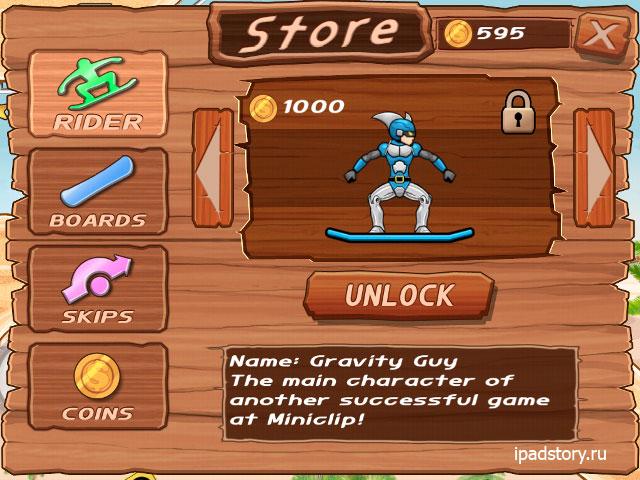 iStunt 2 - Snowboard игра для iPad