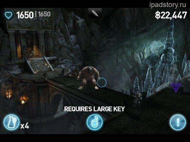 infinity blade 2 на iPad 2