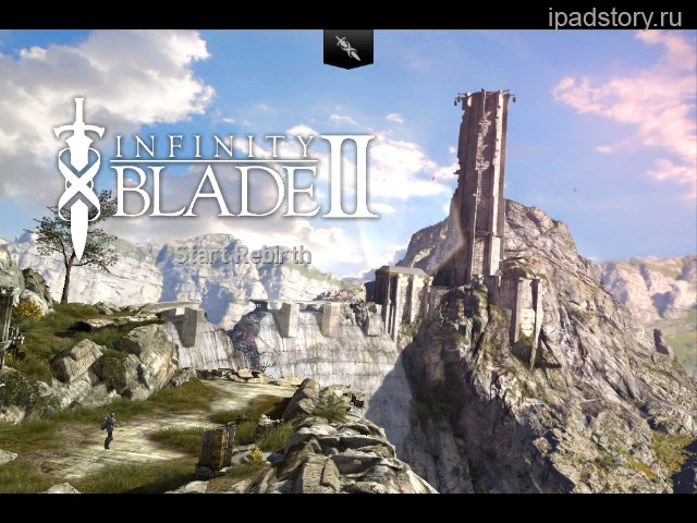 infinity blade 2 iPad