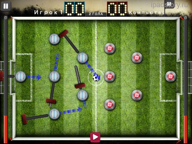 slide soccer ipad