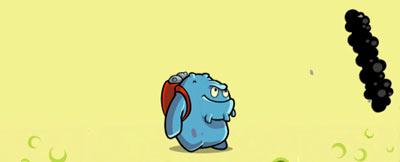 Dread - персонаж игры Snoticle на iPad