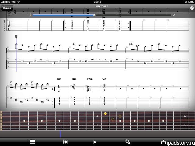Guitar Pro - iPad
