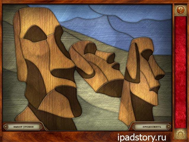 Patchworkz HD на iPad - деревянный пак