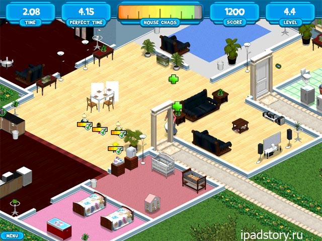 Nanny Mania 2 HD - игра жанра тайм-менеджмент на iPad