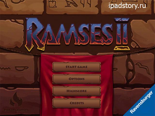 Ramses II - настольная игра на iPad