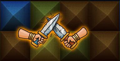 Merciless Duel (дуэль) в игре Ramses II на iPad