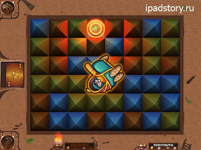 скриншот из игры Ramses II для iPad