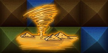 Sandstorm (песчанная буря) в игре Ramses II на iPad