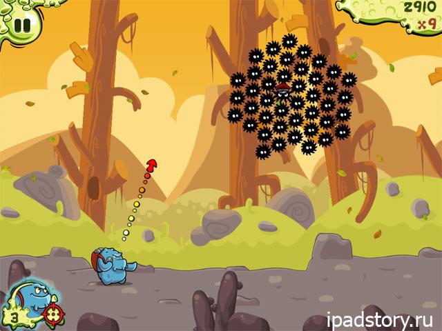 Snoticles - скриншот игры для iPad