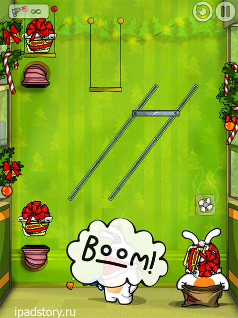 Robber Rabbits! HD на iPad - скриншот игры