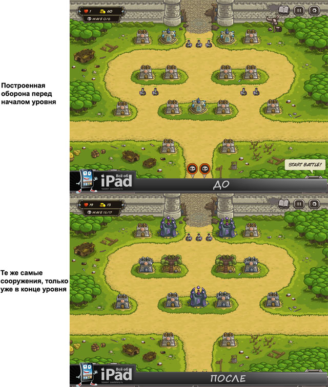 Kingdom Rush на iPad - обзор игры